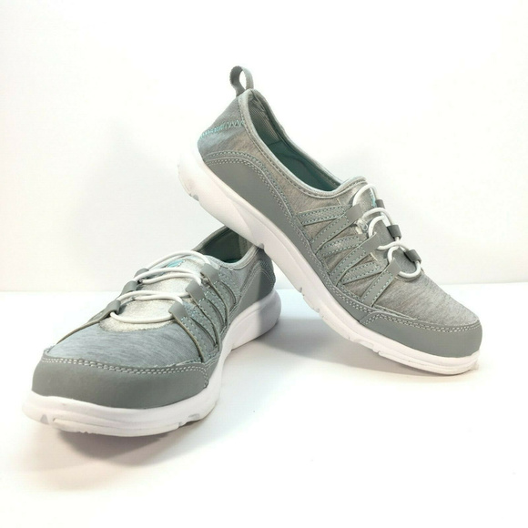 Fila Womens Pilota Memory Foam Slip On Shoes